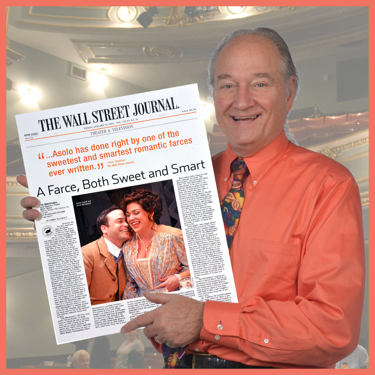 Matchmake Wall Street Journal Review Asolo Rep Theatre