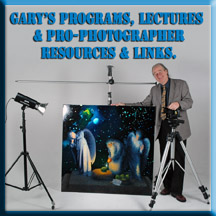 Gary Sweetman in studio teaches fine art copy technique
