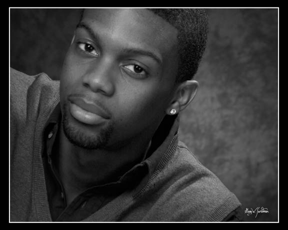 Actor headshots for Afro American actors in Florida