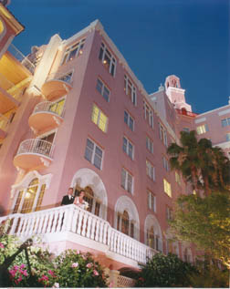 Don Cesar St Petersburg Florida recommended wedding photographer Wedding photography night